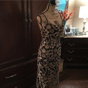 Bebe Beyond Gorgeous Party Dress NWT!!! SZ 4